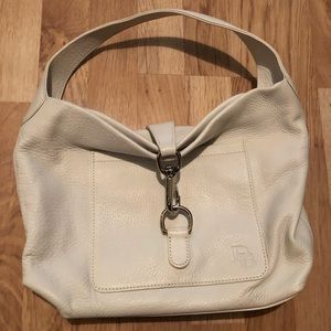 Dooney & Bourke White Hobo Purse